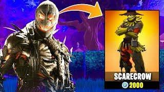 the NEW Scarecrow skin in Fortnite... | Chaos