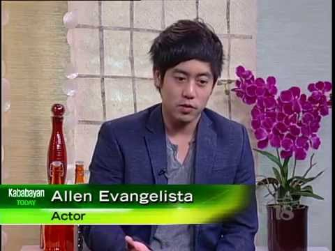 FilipinoAmerican Actor Allen Evangelista