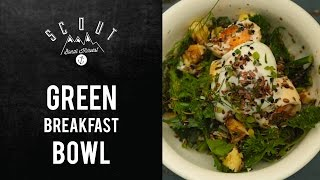 How To Make Garden Fresh Green Breakfast Salad
