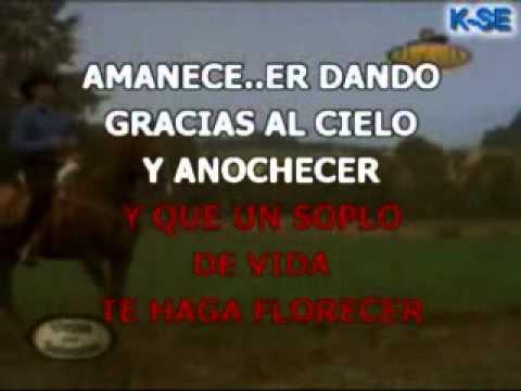 KARAOKE Quiero y necesito - Jose Manuel Figueroa