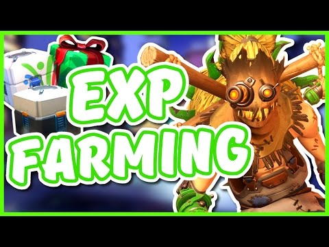 Overwatch - EXP AND LOOTBOX FARMING EXPLOIT