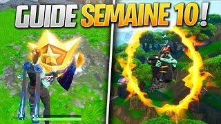 GUIDE COMPLET des DÉFIS de la SEMAINE 10 SAISON 8 de FORTNITE ! (Fortnite Astuce)