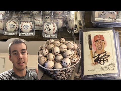 Full Baseball Collection! (Updated) | (AUTOGRAPHS+BASEBALLS+JERSEYS)