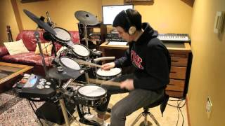 Good Good Night by Roscoe Dash (DRUM COVER) HD