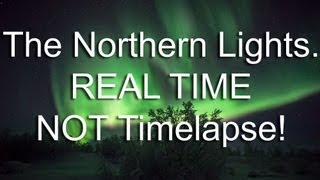 Dance of The Sprits, Full HD, real-time Aurora Footage from Solar Storm of Jan 24