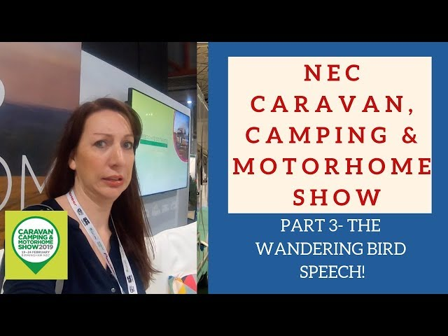 The scariest thing I've ever done??? NEC Camping caravan and motorhome show Part 3!