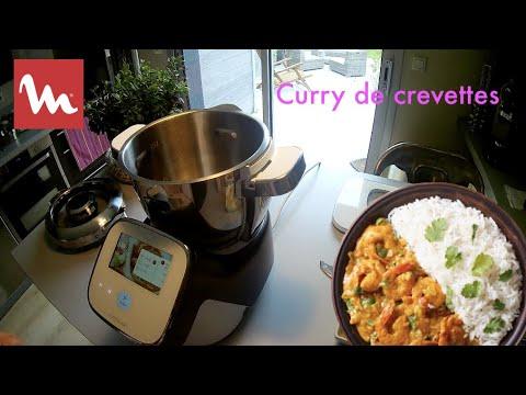 recette-curry-de-crevettes-:-moulinex-i-companion-touch-xl