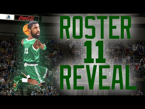 NBA JAM 2019 ROSTER REVEAL | NBA JAM ON FIRE EDITION MOD