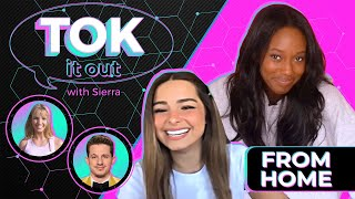 'Tok It Out': TikTok's Addison Rae Talks Tweets, Celebrity Friends, and Teaches the 'Savage' Dance