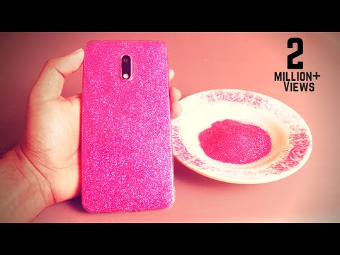 DIY Phone Cover Decoration | Mobile Cover Making at Home | Back Cover Design at Home