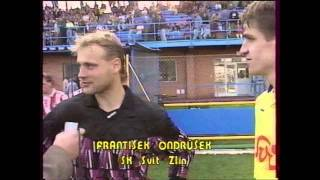 FC Svit Zlín - FC Viktoria Plzeň 1:0 sezona 1993/94