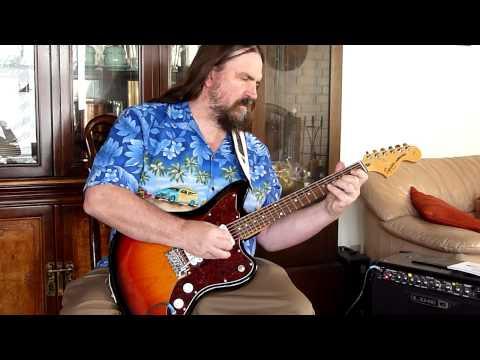 Simon Spalding - Mr Moto Electric Surf Guitar