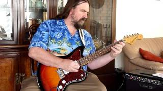 Simon Spalding - Mr Moto Electric Surf Guitar