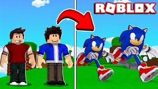 O NOVO SONIC NO ROBLOX (Sonic the Hedgehog)