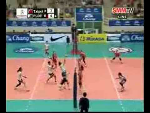 Chinese Taipei vs PLDT HOME TVolution (PHI) #volleyballzone.net