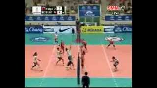Chinese Taipei vs PLDT HOME TVolution (PHI) #volleyballzone.net