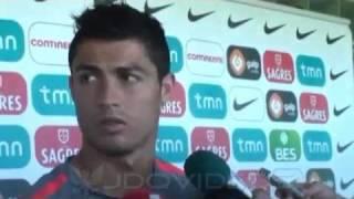"""Cristiano Ronaldo: """"Gritarme 'Messi' es cosa de algunos anormales"""""""