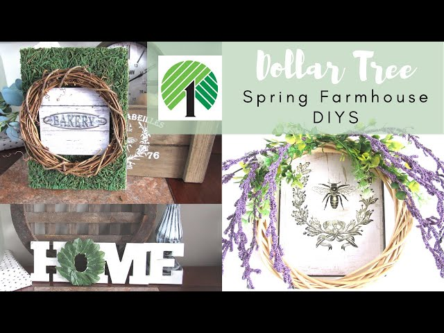 3 Farmhouse DIYS | Farmhouse Dollar Tree DIY Decor Spring 2020 | The Weeks Nest