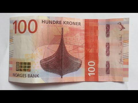 New 100 Norwegian Krone (NOK) Banknote 2017