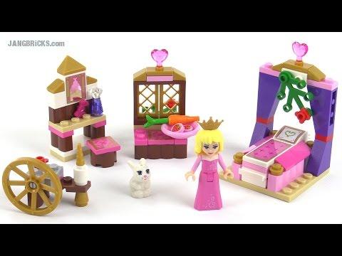 Lego disney princess sleeping beauty s royal bedroom review set 41060