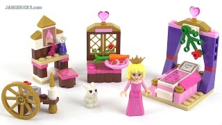 Lego Disney Princess Sleeping Beauty's Royal Bedroom Review! Set 41060
