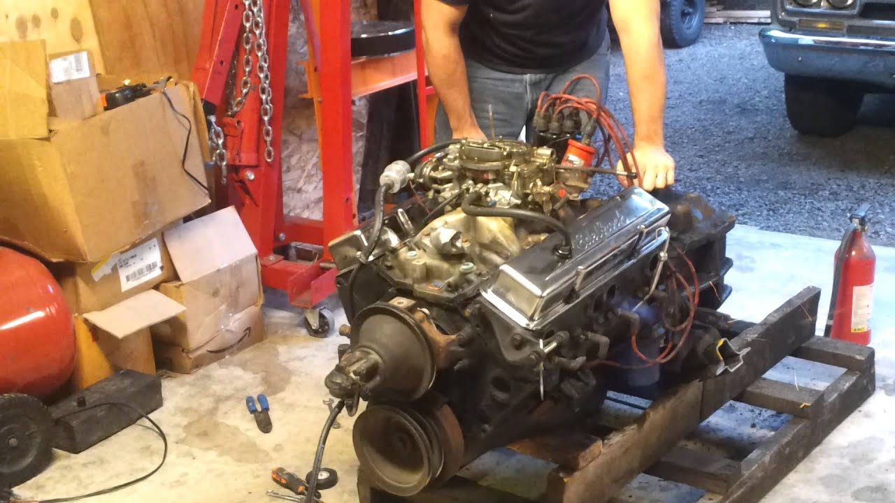 Chevy 350 Crate Motor For Sale Youtube