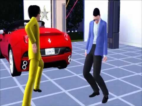 Gangnam Style -  the sims 3