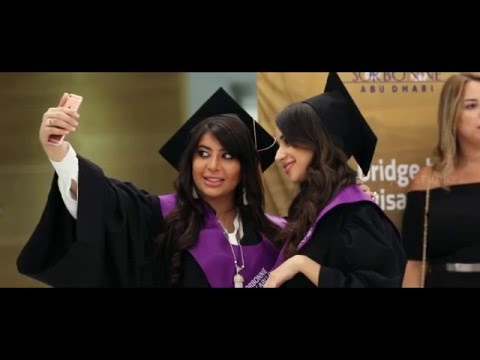 PARIS SORBONNE ABU DHABI GRADUATION CEREMONY 2015