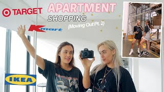 Come Apartment Shopping & Decorating! (Moving Out pt.2) | Mescia Twins