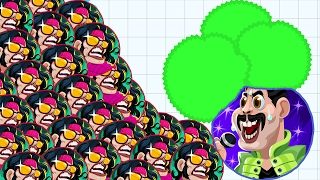 Agar.io King Of The Pop Super Star Bad Boy Skin Agar.io Mobile Best/Funny Gameplay!