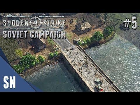 Battle #5: Fourth Battle of Kharkov! - Sudden Strike 4 - Soviet Campaign Gameplay