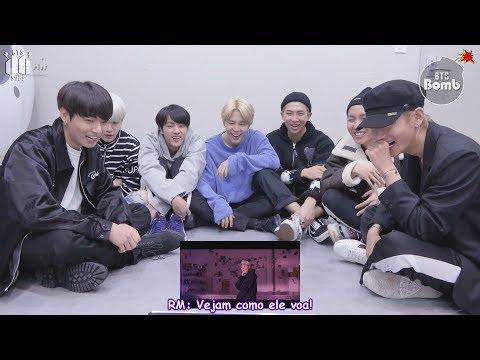 [Bangtan Bomb] BTS reagindo ao MV de