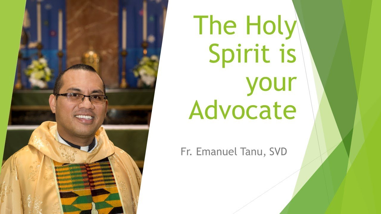 The Holy Spirit is Your Advocate! - YouTube