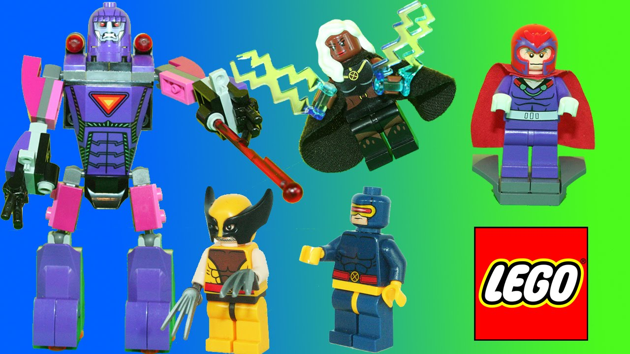 lego marvel super heroes xmen vs sentinel w wolverine