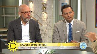 Många ångrar Brexit i Storbritannien – talas om en ny omröstning  - Nyhetsmorgon (TV4)