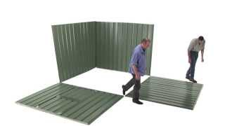 Handi-garden Storage Shed | Quick Installation Guide