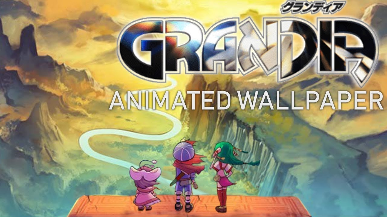 The Edge Of The World Grandia Animated Wallpaper Youtube
