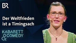 "Martina Schwarzmann: ""Der Weltfrieden ist  a Timingsach"""