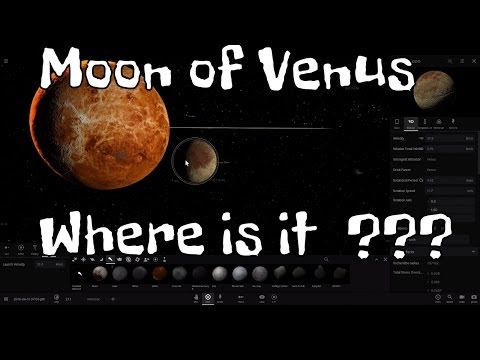 Why No Moon Around Venus??? - Universe Sandbox 2
