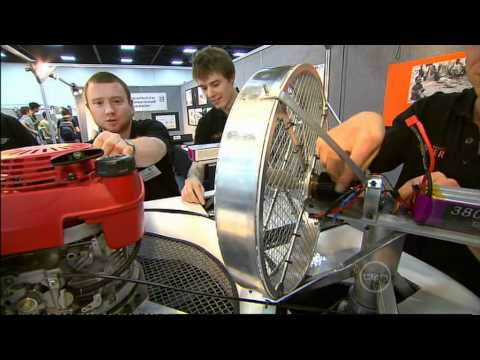 Totally Wild TV - 2009 MechExpo: School of Mechanical Engineering Exhibition