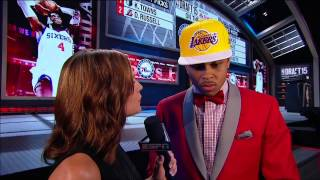 Lakers Select D'Angelo Russell 2nd in 2015 NBA Draft