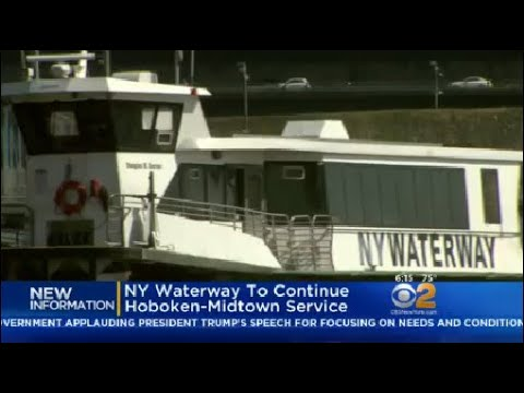NY Waterway To Continue Hoboken-Midtown Service