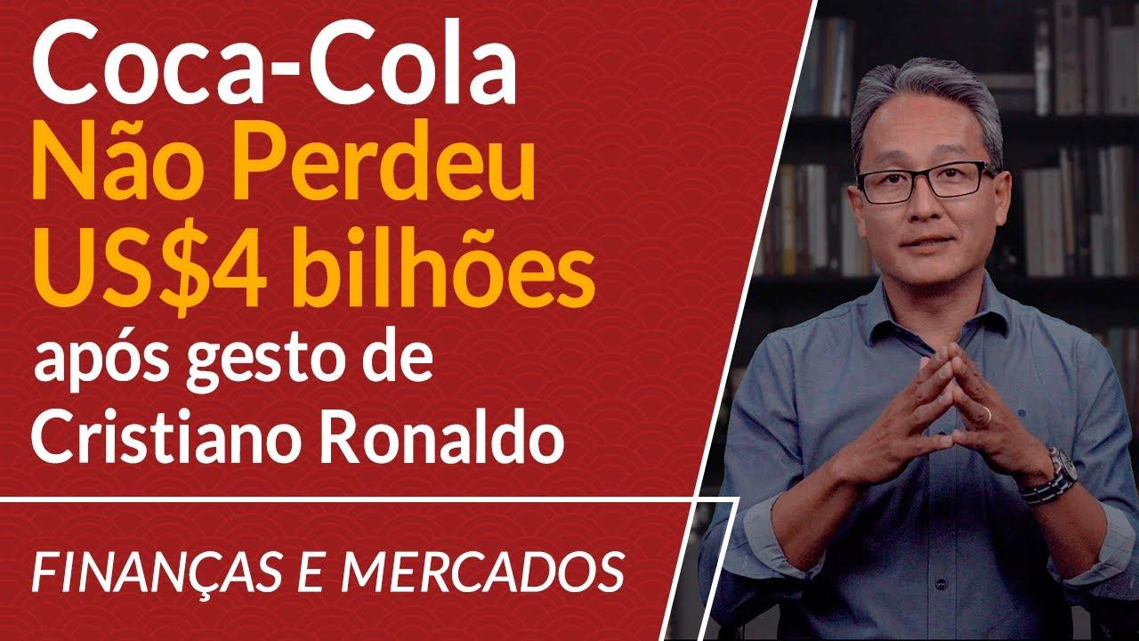Coca-Cola Não Perdeu US$ 4 bilhões após gesto de Cristiano Ronaldo em coletiva de imprensa