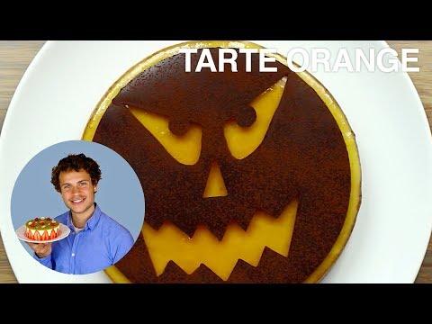 recette-de-la-tarte-À-l'orange-pour-halloween