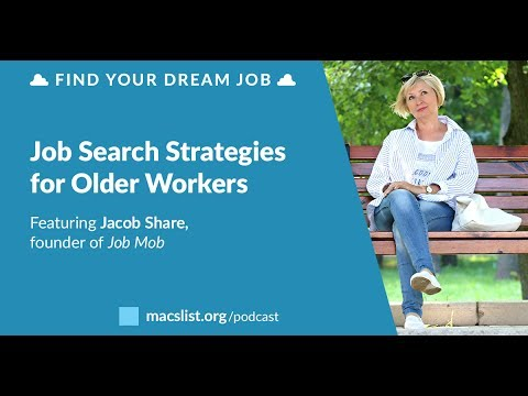 Ep. 093: Job Search Strategies for Older Workers with Jacob Share