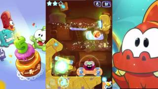 Cut the Rope Magic- Ancient Library (All 3 Stars) Level 5-22 Gameplay/Walkthrough
