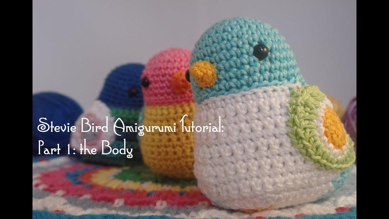 Crochet Bird Pattern | Lime Green Lady | 720x1280