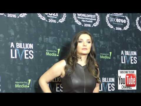 Rachel Ann Mullins at the LA Premiere Of Award Winning Documentary A Billion Lives at ArcLight Theat