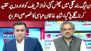 Shahid Khaqan Abbasi Exclusive Interview | To The Point With Mansoor Ali Khan | 22 Sep 2020 | IB1I