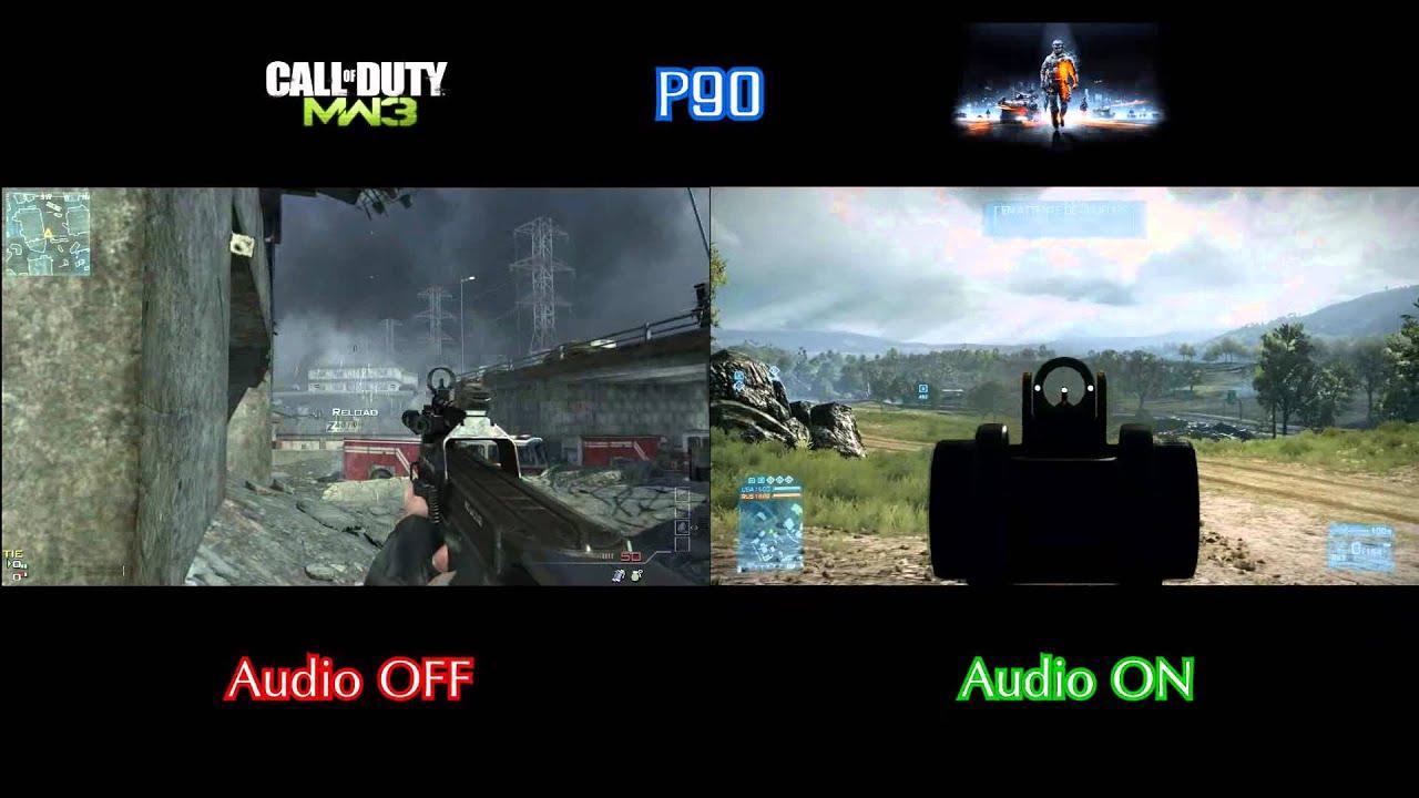 maxresdefault battlefield 3 vs modern warfare 3 gun sounds youtube